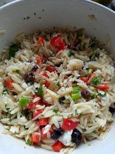 Partageons nos secrets de cuisine : Salade Orzo