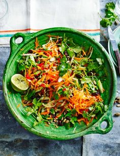 Zingy carrot salad More