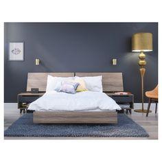 nexera furniture website. Karibou Full Size Bedroom Set #400861 From Nexera, Truffle | Sets And Products Nexera Furniture Website