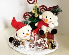 Whimsical Handmade Creations & Vintage by ParadeOfMemories on Etsy Etsy Christmas, Christmas Items, Christmas Ornaments, Etsy Handmade, Handmade Items, Handmade Gifts, Etsy Vintage, Christmas Gift Guide, Beautiful Christmas