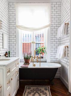 6 Gorgeous Small Bathroom Ideas -- One Kings Lane