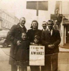1950 Street Witnessing