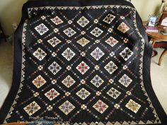 Heartspun Quilts ~ Pam Buda: Primitive Threads Visits My House