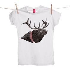 Jamie Mills - Deer Ohh Deer T-shirt