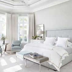 Looking for some French bedroom ideas? French bedroom design is popular for its elegance and whimsy. And plus, this romantic design is so easy to achieve. Farmhouse Master Bedroom, Master Bedroom Design, Home Decor Bedroom, Bedroom Designs, Bedroom Ideas, Bedroom Furniture, Beds Master Bedroom, Cool Home Decor, French Bedroom Decor