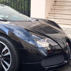 You don't see many Bugatti's around London.  Spotted in Belgravia.