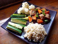 Makeshift Macrobiotic Adzuki Beans & Sweet Potatoes