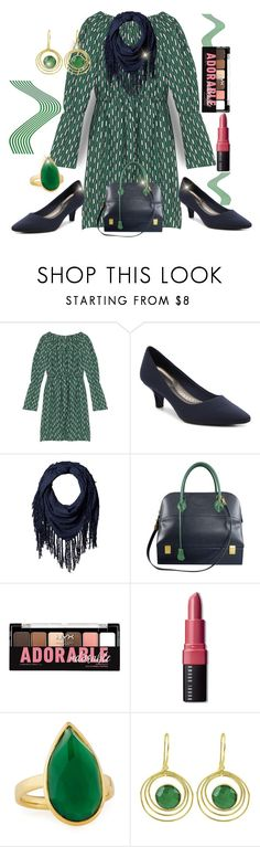 """""""Greetings & Salutations"""" by jfcheney ❤ liked on Polyvore featuring Maje, D&Y, Hermès, Charlotte Russe, Bobbi Brown Cosmetics, Ippolita and Carousel Jewels"""