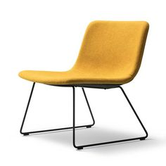 PATO Lounge Chair - Sledge Base