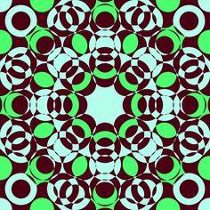 #psycho #green #retro #vintage #abstract #art #artsy pattern #design #fashion #textile #surrealism #ornamental #circle #decorative #hipster