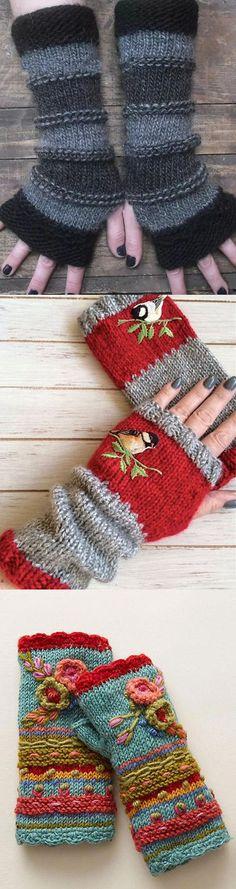 Crochet Snood, Crochet Gloves, Ways To Wear A Scarf, How To Wear Scarves, Knitting Socks, Free Knitting, Knitting Projects, Crochet Projects, Stitch Patterns