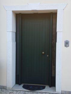 portale cemento finitura bocciardata