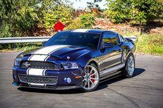 'Kona Blue' Ford Shelby Mustang GT500 Super Snake 750HP V8