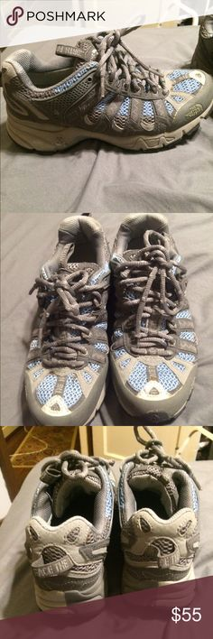North face trail runners Barely used excellent quality, women's The North Face Shoes Athletic Shoes