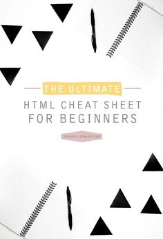 java tutorial for complete beginners udemy com  the ultimate html cheat sheet for beginners i can build a blog