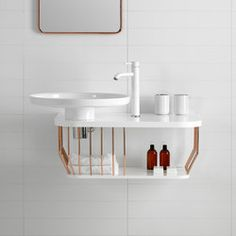 Vanity units-Bathroom furniture-Bowl Bathroom Furniture-Inbani