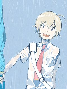 Tsuritama ~~~ Haru, Who Doesn't Need an Umbrella!