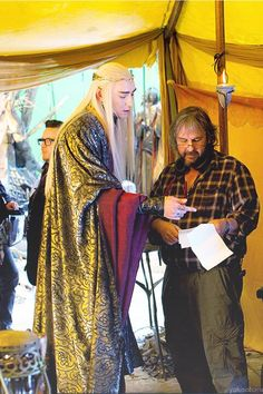 Lee Pace is so otherworldly here, it actually looks as though a real elf has dropped by the set to advise Peter Jackson.