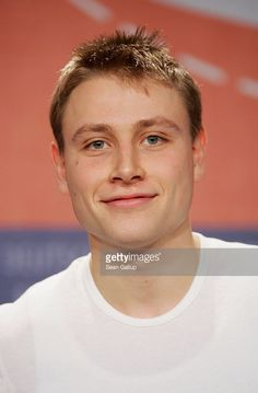 Actor Max Riemelt attend the press conference of 'The Red Cockatoo' ('Der Rote Kakadu') as part of the 56th Berlin International Film Festival (Berlinale) on February 14, 2006 in Berlin, Germany.