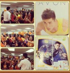 Twitter / Emotional_KX: @XianLimm First AVON Branch Visit, Imus-Avon branch Top Seller @Avon Philippines   CTO