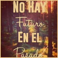 No hay...