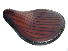 Custom Motorcycle Seats Hand Tooled Leather Seats- Roberti Customs