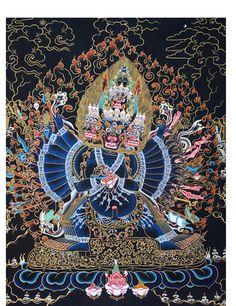 Yamantaka Thangka @ NORBULINGKA. Art Experience NYC www.artexperiencenyc.com/social_login/?utm_source=pinterest_medium=pins_content=pinterest_pins_campaign=pinterest_initial