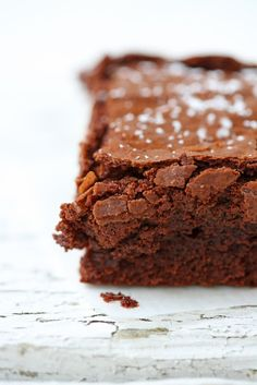 Fudgy Brownies au chocolat