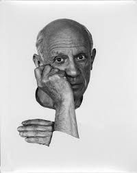Portrait of artist Pablo Picasso June 1954 in Vallauris, France. Get premium, high resolution news photos at Getty Images Pablo Picasso, Portrait, Pencil Drawings, Photos, Images, France, June, Europe, Ceramics