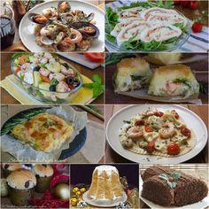 Menu Vigilia di Natale 2016 a base di pesce, ricette facili veloci ed economiche per il cenone di Natale.