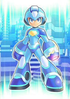 Megaman 2018 By Ultimatemaverickx by V-a-a-N