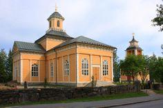 Evijärvi church. (Antti Antinpoika Hakola 1759) Evijärvi the church was repaired and extended in depth Heikki Jaakonpoika Kuorikoski the chair in 1886-1887.