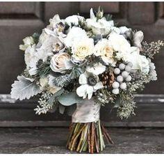 15 Creative Winter Wedding Ideas Pinecone Bouquet And Weddings