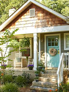 Small Porch with Panache