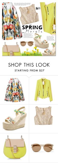 """""""Shein 9"""" by cherry-bh ❤ liked on Polyvore featuring Calypso St. Barth, Chloé, Yves Saint Laurent and shein"""