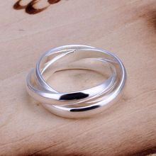 R167 liberan el envío Women 's 925 anillo de plata de ley, 925 joyería de plata, moda anillo anillos de bodas anelli donna(China (Mainland))