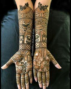 Bridal Mehndi Designs, Henna Designs, Mehendi, Hand Henna, Hand Tattoos, Fashion, Henna Art Designs, Moda, Fasion