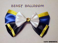 Ballroom Beast Hair Bow Beauty and the Beast by bulldogsenior08, $9.00
