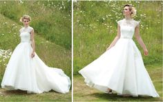 Dress of the Week + Lyn Ashworth Bridal Collection - Belle The Magazine