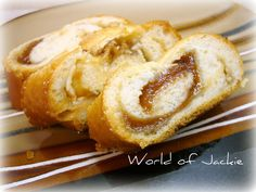 Sweet Bread Stuffed with Guava and Cheese (Pan Dulce con Guayaba y Queso)
