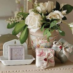 Pretty Bath Accessories..
