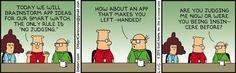 Brainstorming App Ideas - Dilbert by Scott Adams