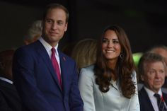 Prince William and Kate at Olympics Opening Ceremony