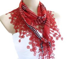 Necklace scarves Traditional Turkishstyle Headband by likeknitting, $14.99