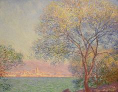 Claude Monet, Morning at Antibes, 1888