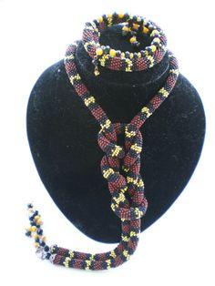 coral snake . | biser.info - всё о бисере и бисерном творчестве
