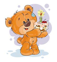 Hoop jou jaar is vol liefde, vrede, geluk & lag Tatty Teddy, Teddy Bear Cartoon, Cute Teddy Bears, Cute Cartoon, Birthday Wishes Gif, Happy Birthday Greetings, Birthday Cards, Happy Birthday Kids, Happy Birthday Images