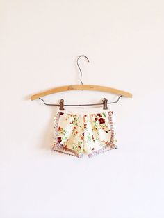 Lil birdie lace trimmed shorts