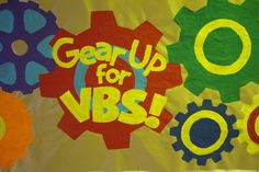 Love how all these colors pop on this paper! Clip art part of Decorating and Publicity CD ROM! www.cokesburyvbs.com