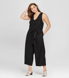 Who What Wear Tie Back Jumpsuit